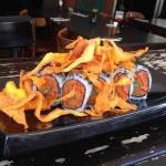 Best Kosher Sushi in Tel Aviv-Sweet Potato Sushi
