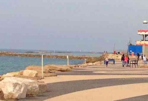 Best Beaches in Tel Aviv- Alma Beach
