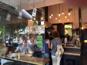 Vegan Restaurat in Tel Aviv _ Market -Doorway