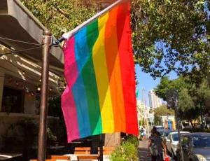 Gay Pride Parade2016-Flag