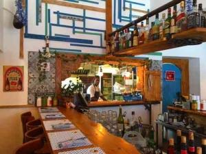 Greek Restaurant in Tel Aviv- interior