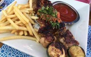 Greek Restaurant in Tel Aviv- souvlaki