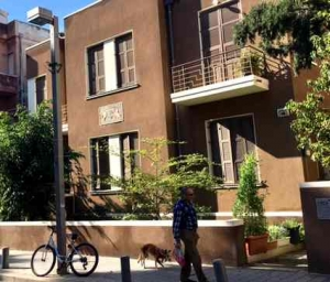 Bialik Street in Tel Aviv-Apartment block2