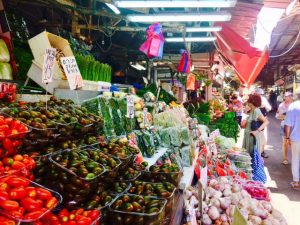 ShukHaCarmel-Veg Stall