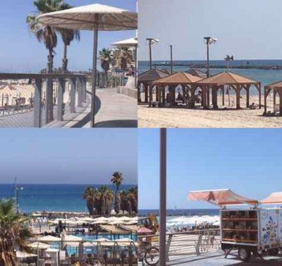 Best Beaches in Tel Aviv- Sept 2017