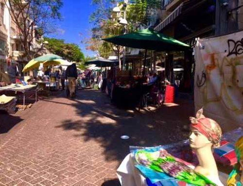 Nachalat Binyamin Market, Tel Aviv