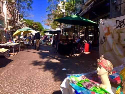 Nachalat Binyamin Market, Tel Aviv-4