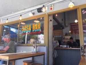 Dosa Bar in Tel Aviv-Outside